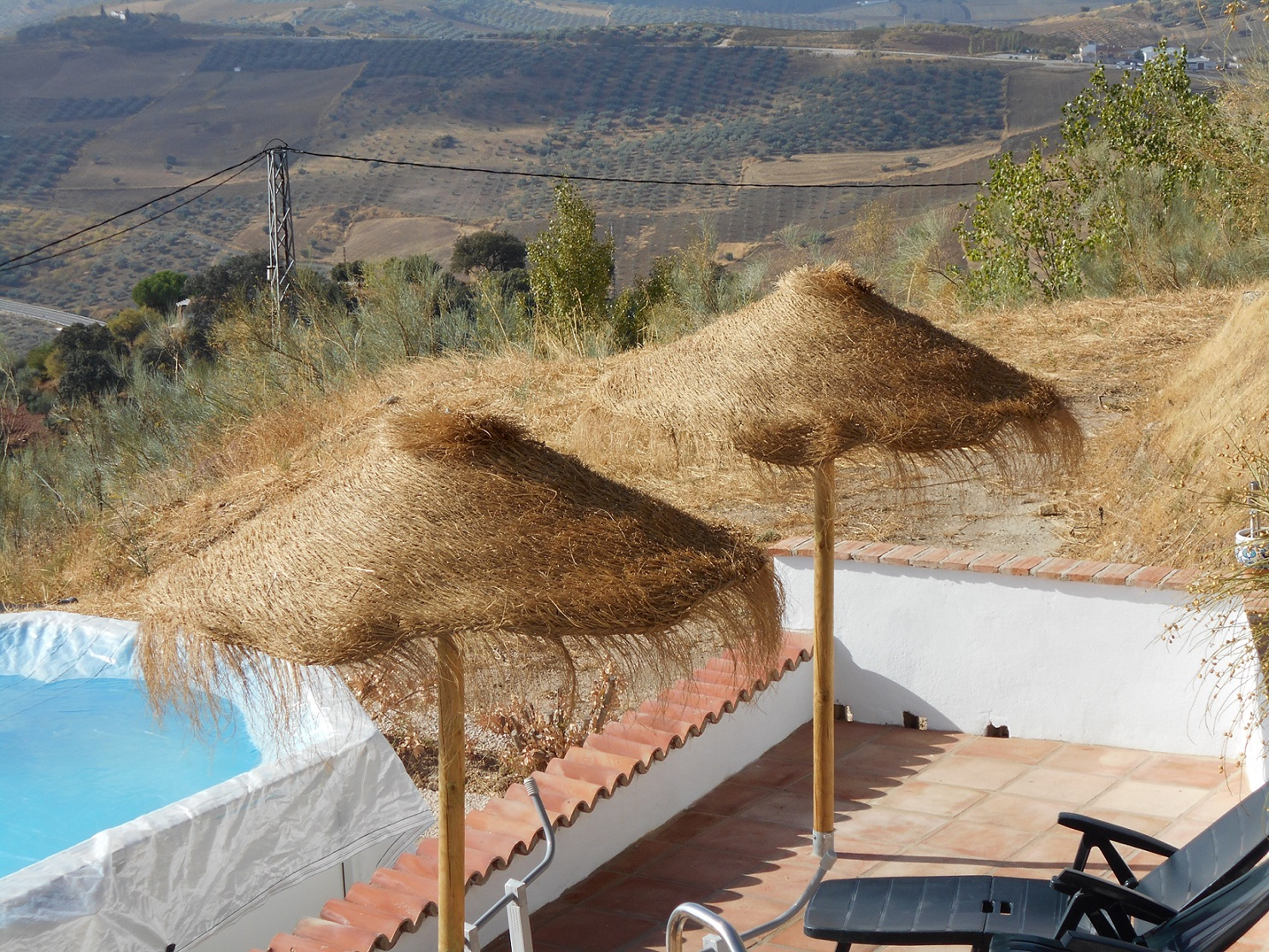COUNTRY VILLA WITH LAND – FOR SALE –  NEAR COLMENAR