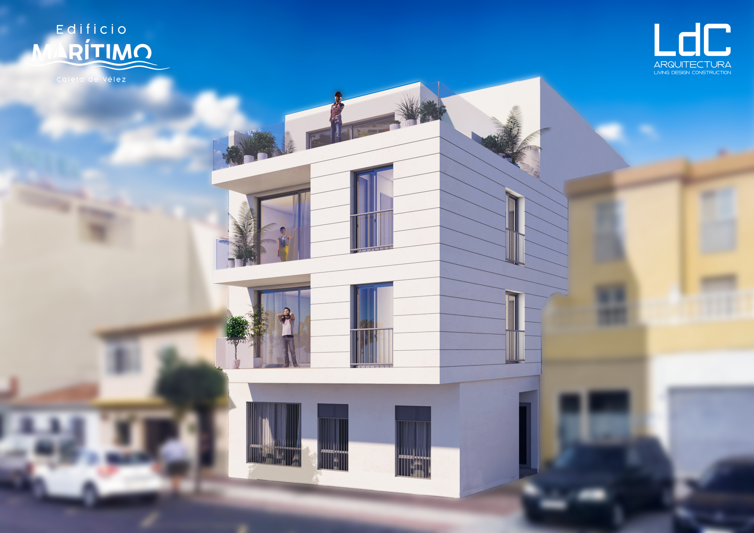 THESE NEW BUILD 1and 2 BED APARMENTS – FOR SALE – CALETA DE VELEZ.